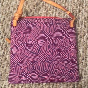Dooney & Bourke Bags - Dooney and Burke pink and purple crossbody